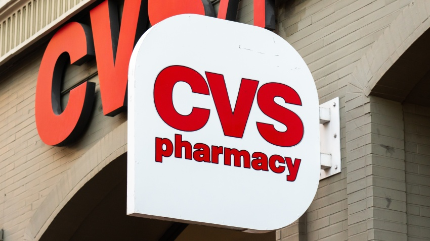 CVS sign on store