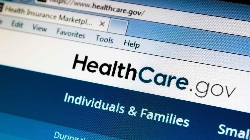 Imagen de archivo de la página de Healthcare.com.