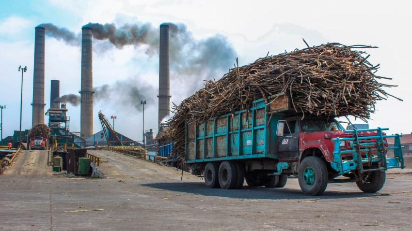 Ingenio azucarero en México