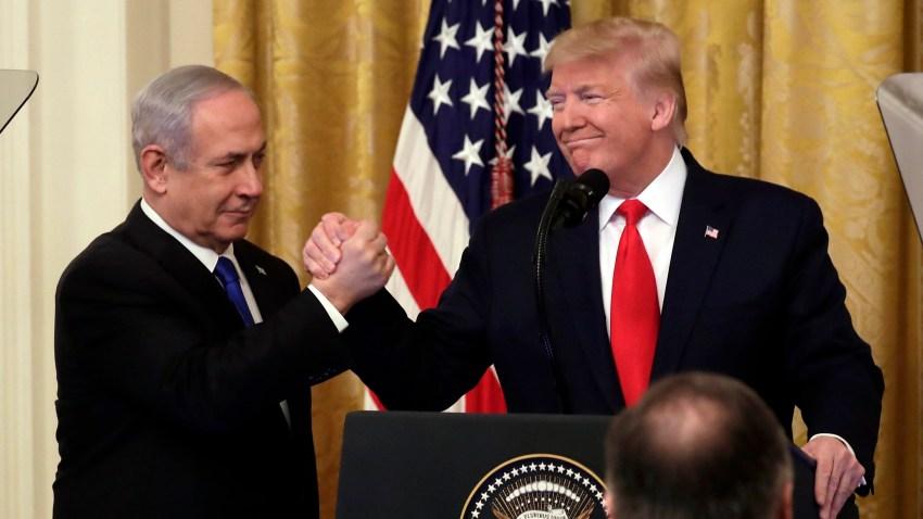 Trump y Netanyanu