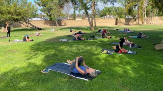 Yoga at the Park in Poway