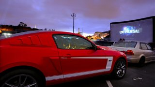 Auto cine en OldTown