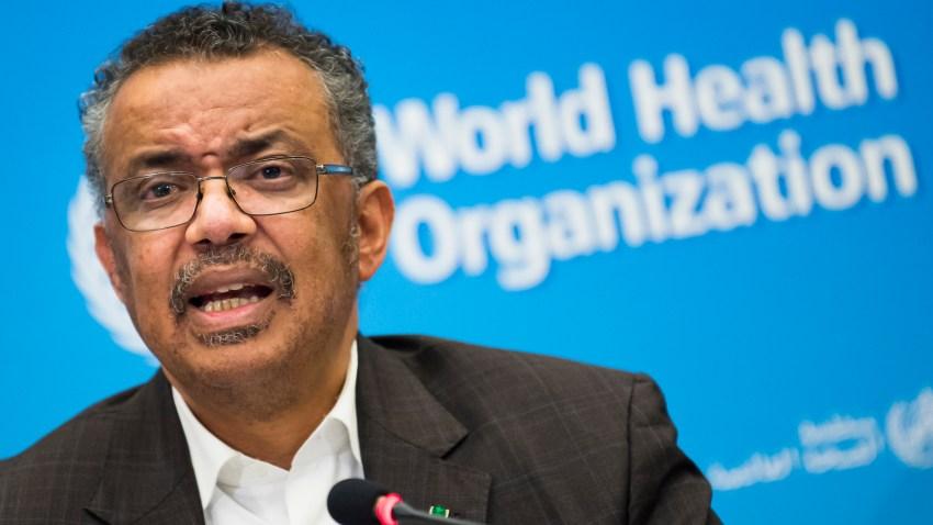 Director de la OMS, Tedros Adhanom Ghebreyesus