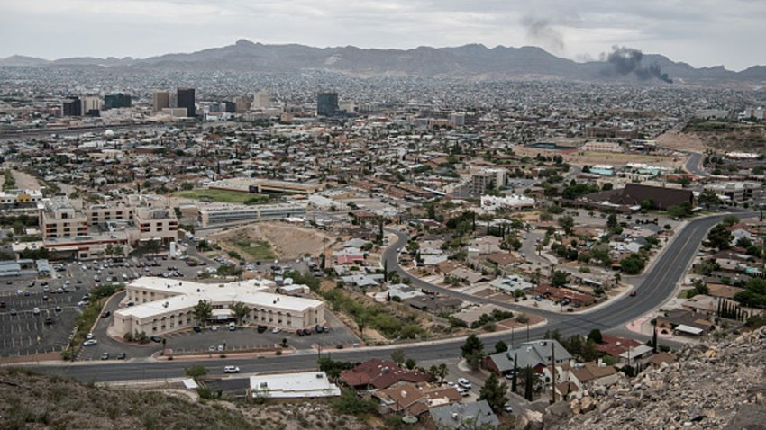 A view of downtown on July 1, 2020 in El Paso, Texas.