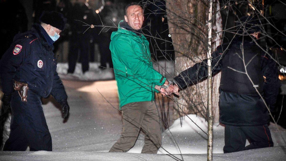 Navalny, sentenced to three and a half years in prison in Russia – Telemundo El Paso (48)