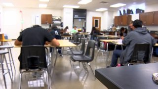More students are headed back to class in the Dallas Independent School District. The district is hitting social media, giving out incentives, and pleading with parents and students to spend the last nine weeks on campus.