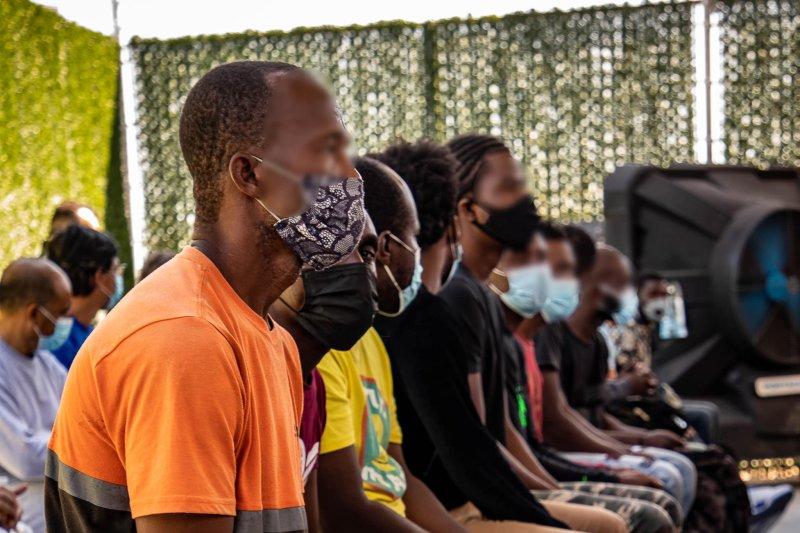 Comparte Patrulla Fronteriza procesamiento de haitianos llegados a El Paso